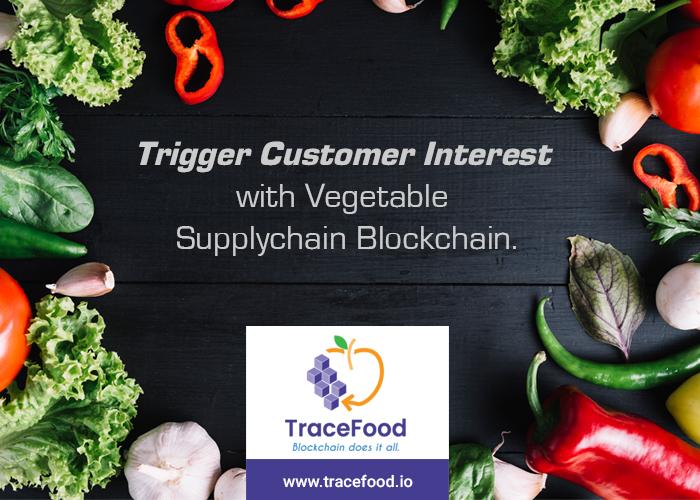 Vegetable Supplychain blockchain