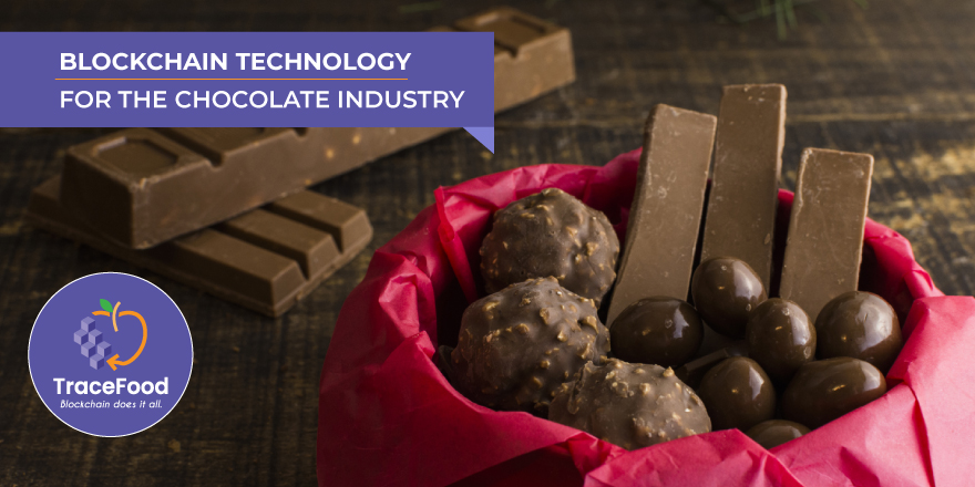 chocolate supply chain blockchain