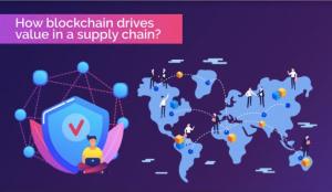 supply chain blockchain management