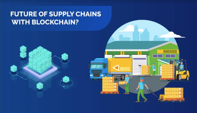 Supplychain blockchain management