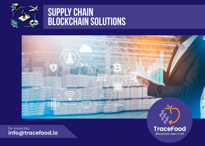 Supply chain blockchain solutions
