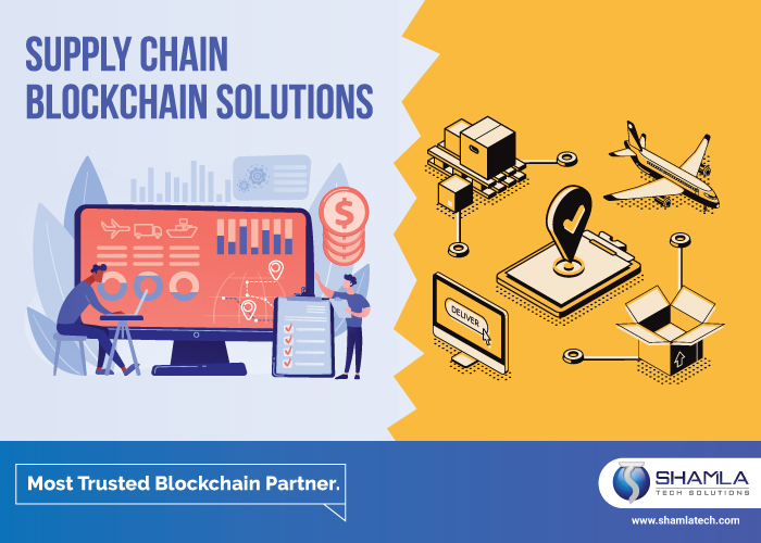 Supply chain blockchain solution